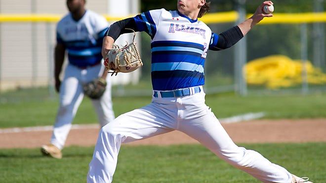 Alliance pitcher Gavin Bruni.