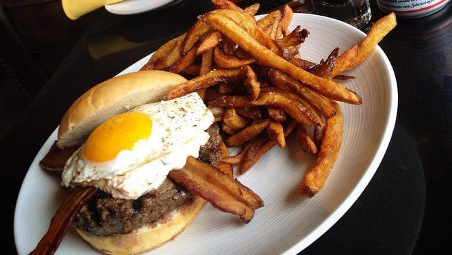 Social Southern Table & Bar offers brunch options like the hair of the dog, which includes the big bad brunch burger, frites, a 16-ounce can of Pabst Blue Ribbon, a shot of Old Grand Dad 114 bourbon and BC powder.