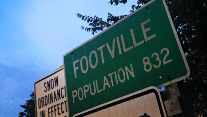 Only in Wisconsin will you find towns with names as strange as Footville.