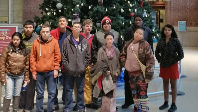 Special Needs students at Ben Davis Ninth Grade Center will visit the Indianapolis Zoo thanks to a $170 donation from the Simon Family Foundation, one of 824 classroom projects the Pacers owners funded through DonorChoice.org on Thursday.
