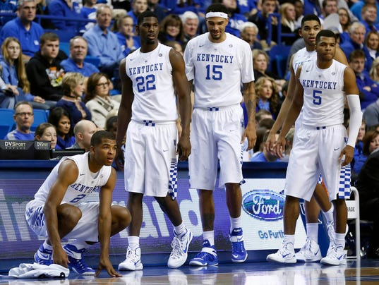 No. 1 Kentucky starts season with rout of Grand Canyon