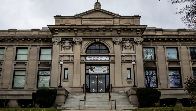 """The Port Huron Museum has raised more than $100,000 toward its $250,000 goal of the """"Carnegie Reimagined"""" fundraising campaign."""