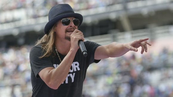 In this Feb. 22, 2015, file photo, Kid Rock performs