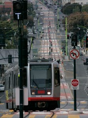 San Francisco's light rail line connecting all of the Third Street neighborhoods to the full Muni Metro system.