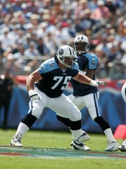 Lineman Benji Olson went on to a long career in the NFL after playing at South Kitsap and the University of Washington.