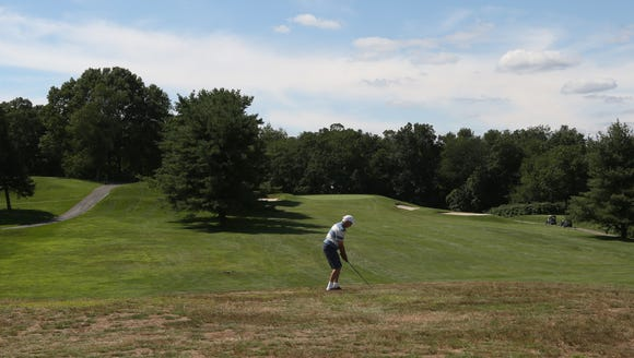 The 4tth hole at Mohansic Golf Course in Yorktown July