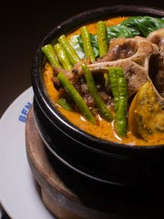 Another popular dish at  Ben N Yan's restaurant is the, Kare Kare oxtail cooked with peanut butter.
