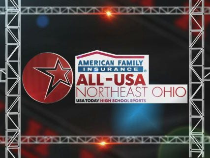 American Family Insurance All-USA Northeast Ohio graphic