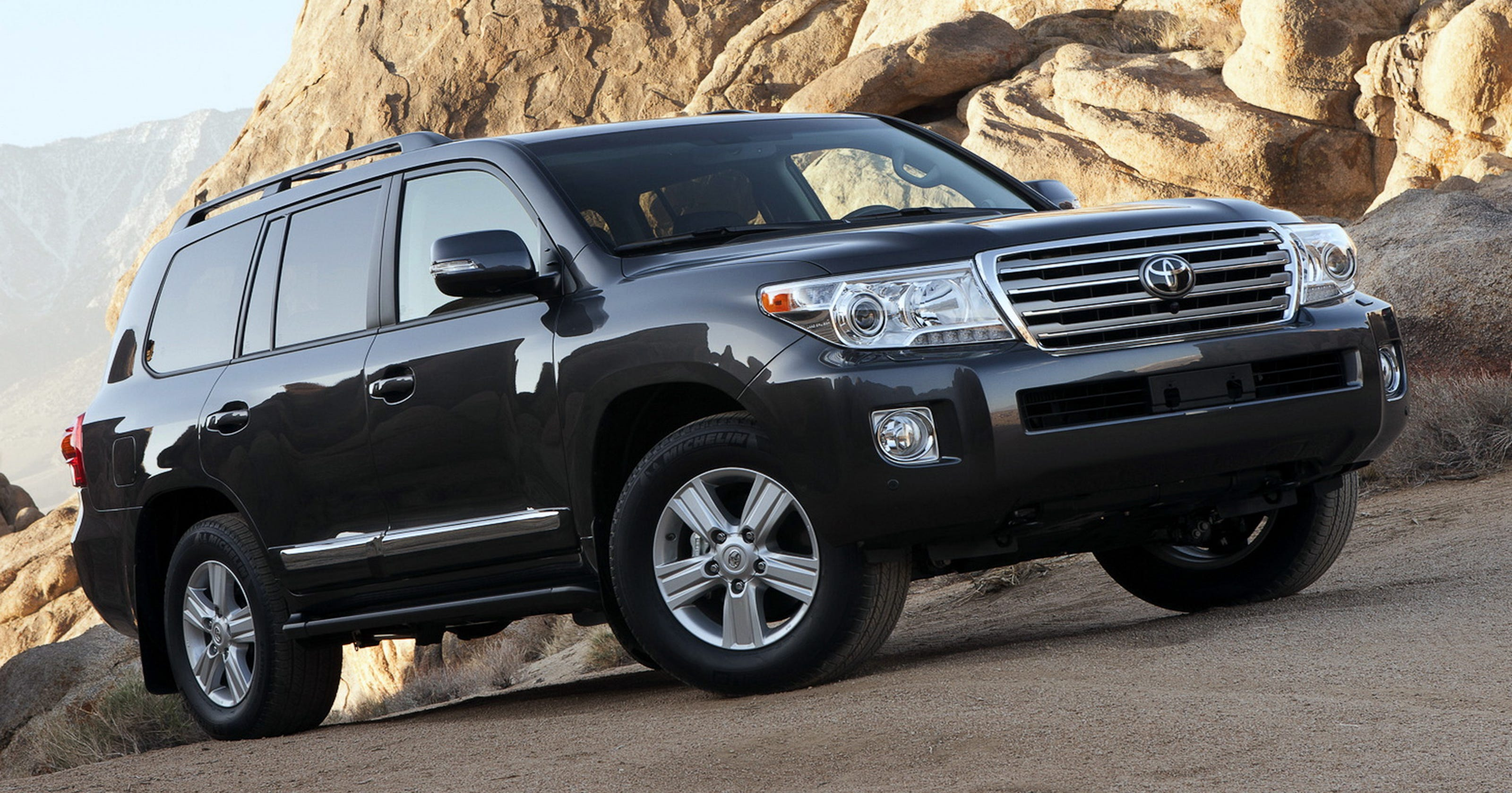 2014 Toyota Land Cruiser Not Just An Off Road Vehicle