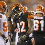 Cincinnati Bengals running back Jeremy Hill is hoping to create more special plays in the second half.