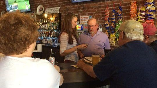 Cali Steckbauer, co-owner of Whiskey Rapids Saloon, shares a conversation with Stan Sukow, who owned The Bar, the previous business at the location.