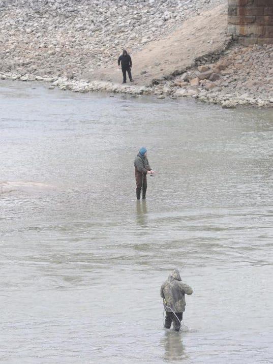 Fishing report walleye run slowly starting for Port clinton fishing report