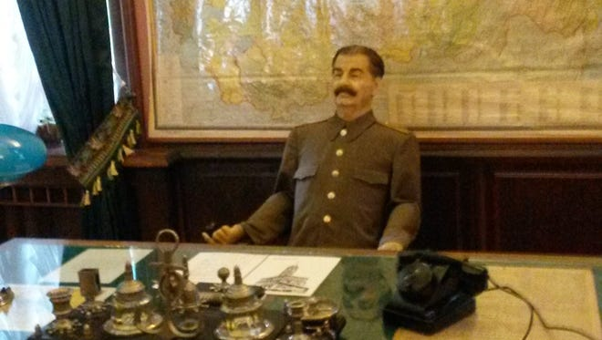 Joseph Stalin spent three or four months a year in his dacha in Sochi.