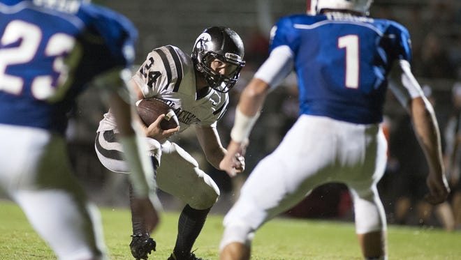 Colby Maltry and North Buncombe begin Mountain Athletic Conference play on Friday against Enka.