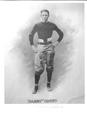 "Vanderbilt quarterback ""Rabbit"" Curry, a teammate and friend of Johnny ""Red"" Floyd, was killed in a combat mission in World War I."