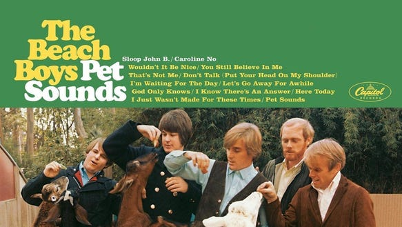 """""""Pet Sounds"""" by The Beach Boys."""