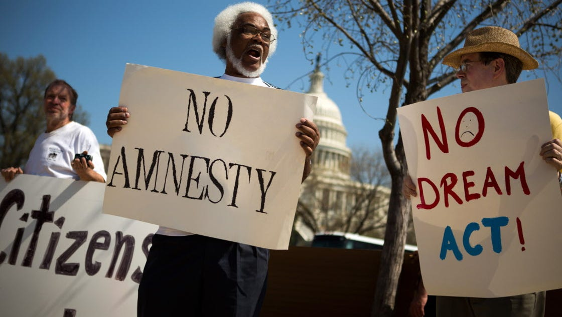 amnesty for illegal immigrants essay Free essay: this is amnesty, and i oppose it amnesty would be unfair to those who were here lawfully, and it would invite further waves of illegal.