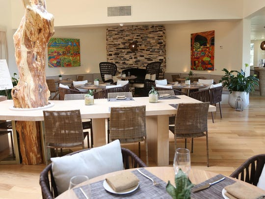 Dine at Essense at Two Bunch Palms resort in Desert Hot Springs. Part of the hotel's overall remodel and plan to go solar.