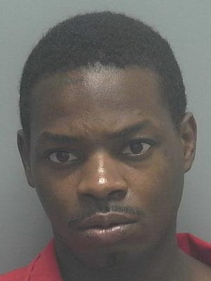 Litray Maurice Bell, 28, faces charges of aggravated battery on an officer, fleeing and eluding, hit and run, aggravated assault with a deadly weapon, and driving with a suspended license (habitual offender).