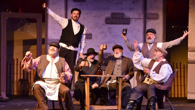 "The Candlelight Theatre's production of ""Fiddler on the Roof"" returns through Nov. 2."
