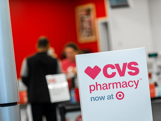 The first six CVS Pharmacy stores located inside Target