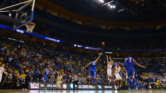 Wichita State head coach Gregg Marshall insisted Sunday that he wanted the ball in guard Fred VanVleet's hands at the end of the Shockers' game vs. Kentucky.