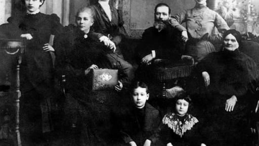 Herbert Cohen was just 5 years old in this photo, taken when his family returned to St. Petersburg, Russia, to visit family. He's sitting on the floor, to the right, in this photo. This noted 20th-century York attorney gained the office of state attorney general and later served on the Pennsylvania Supreme Court.