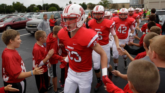 Kimberly will host Eau Claire Memorial on Saturday in a WIAA Division 1, Level 3 playoff football game at Papermaker Stadium. Live coverage of the game will kick off at 3:45 p.m. on postcrescent.com.