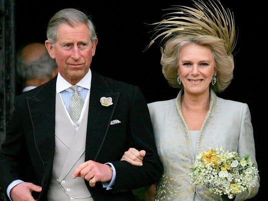 Prince Charles and his bride Camilla  Duchess of Cornwall
