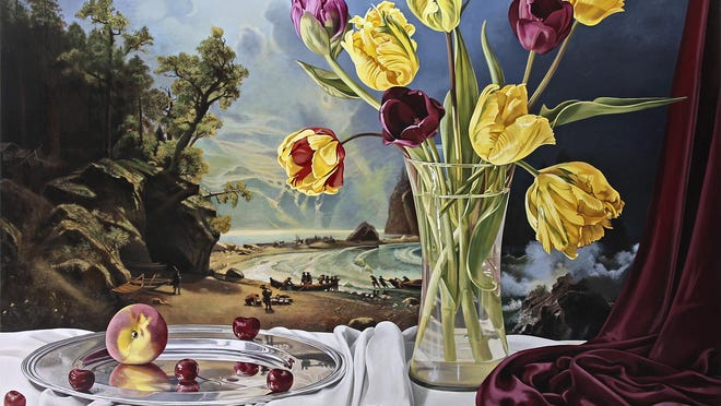 """""""Still Life with Puget Sound"""" by Sherrie Wolf"""