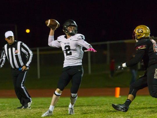 High school football: Pine View at Cedar, Wednesday,