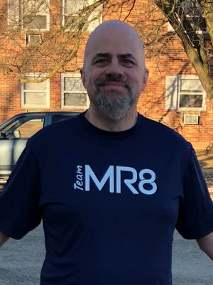 Joel Padovano of Fond du Lac will run the Boston Marathon as part of Team MR8, a facet of the Martin Richard Foundation, started in memory of Boston Marathon Bombing victim Martin Richard.