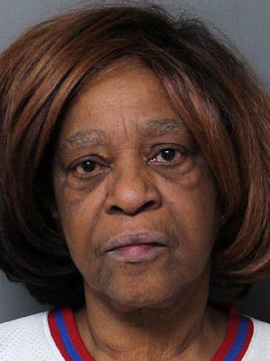 Delores White, 67, seen in this photo sent by the Erie Bureau of Police on April 15, is charged with criminal homicide in the fatal stabbing of a man at an East Lake Road residence on April 14. Her lawyer has filed a motion asking an Erie County judge to set bond in the case.