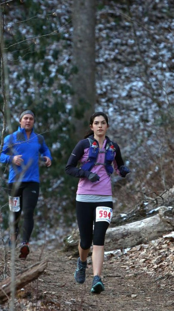 More than 400 runners took on the Mount Mitchell Challenge