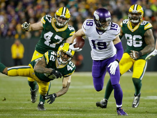 Morgan Burnett, Adam Thielen