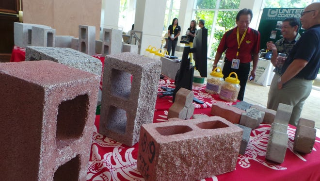 Some 50 contractors, suppliers and vendors took part in the Guam Contractors Association's trade fair at the Hyatt Ballroom on April 26. The industry seminar continues April 27.