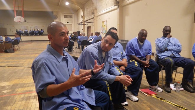 Johnny Placencia was part of the reading group between Palma High School and Soledad Prison.