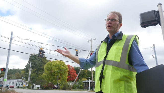 Chapin Spencer, director of public works in Burlington talks about recent changes to North Avenue. His department will present findings from the pas four months of changes to the City Council next week.
