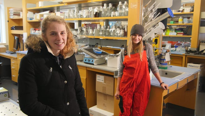 Taylor Dodge and Rachael Young, Rutgers University-New Brunswick seniors, are friends, roommates, South Jersey natives – and headed to opposite ends of Antarctica this month for separate research projects to gather data on the effects of climate change.