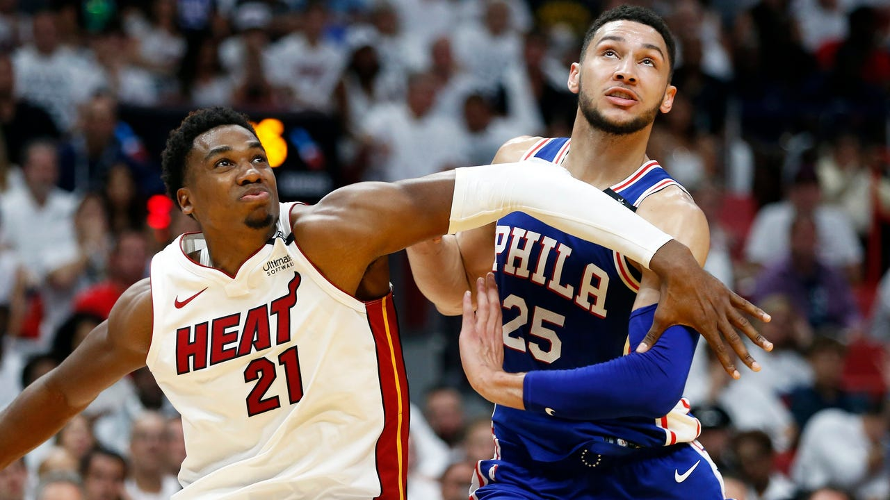 76ers take commanding 3-1 lead on bloodied Heat