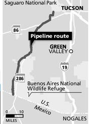 pipeline route map