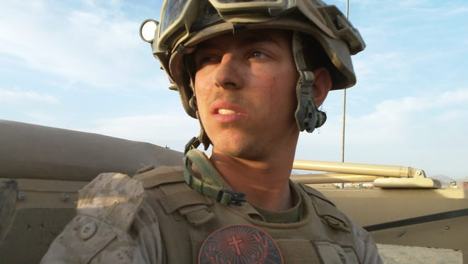 Keaton Mahan, a former Marine from Martinsville, is making a documentary from the hours of video he shot while deployed in Afghanistan.
