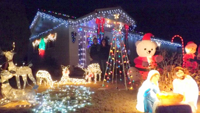 The Muniz family captured first place in the annual Hurley Pride Committee decorating contest.