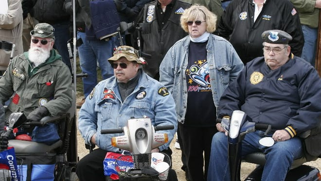 Veterans on the National Mall in 2007