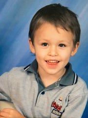 Joey Bishop of Ludlow, Ky., as an elementary schooler