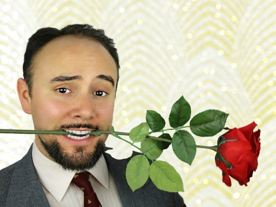 "Phil Gosselin performs in QNEK Productions' ""Lend Me a Tenor"" starting Friday in Derby Line."