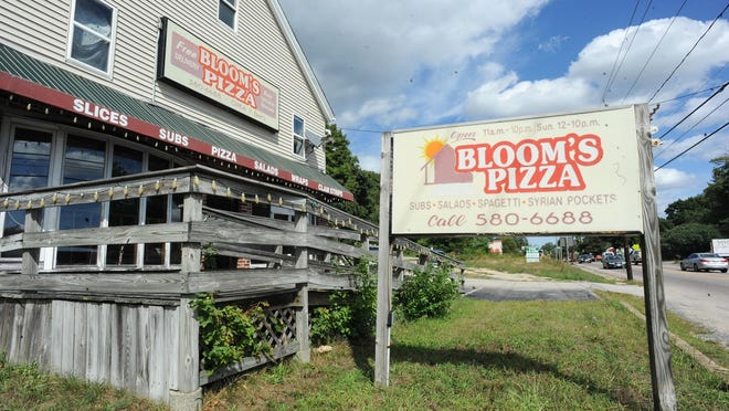 Bloom's Pizza, at 499 W. Center Street in West Bridgewater, is closed for business, pictured Tuesday, Sept. 1, 2020.