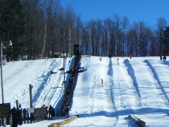 Perkinstown Winter Sports Area is located in the Chequamegon-Nicolet National Forest.