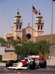 For three years, Formula One racing took to the streets