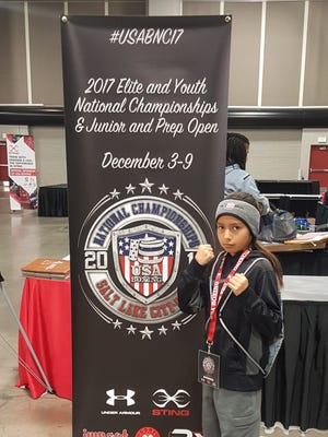 Joscelyn Olayo-Muñoz won the championship of her division at the 2017 USA Boxing National Championships, which ran from Dec. 3-9 in Salt Lake City, Utah.